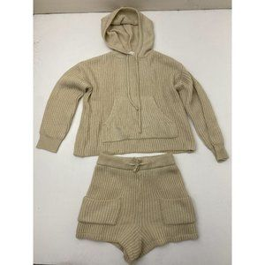 Johnny Becca Two Piece Outfit Sweater And Shorts